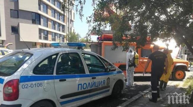 ИЗВЪНРЕДНО! Страховита гледка в апартамент на ужасите в Бургас: Труп гниел от месеци, главата е разложена (СНИМКИ)