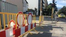 Нови ремонти затварят възлови булеварди в София