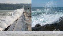 ИЗВЪНРЕДНО! Бурното море взе първа жертва, 10-годишно дете на косъм от смъртта
