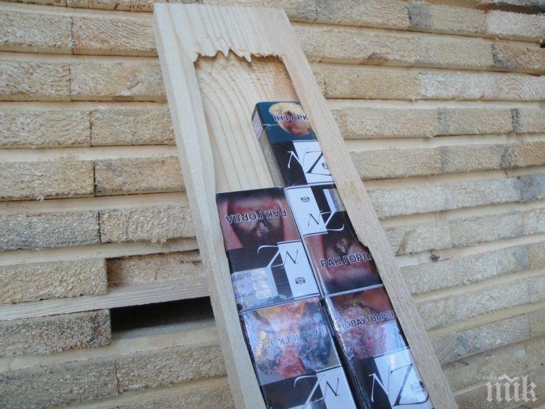 УДАР! Разкритата контрабанда на цигари в Бургас е за над 800 000 лева