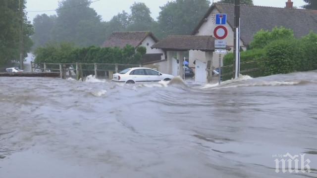 Порои заляха Франция, евакуираха 1600 души
