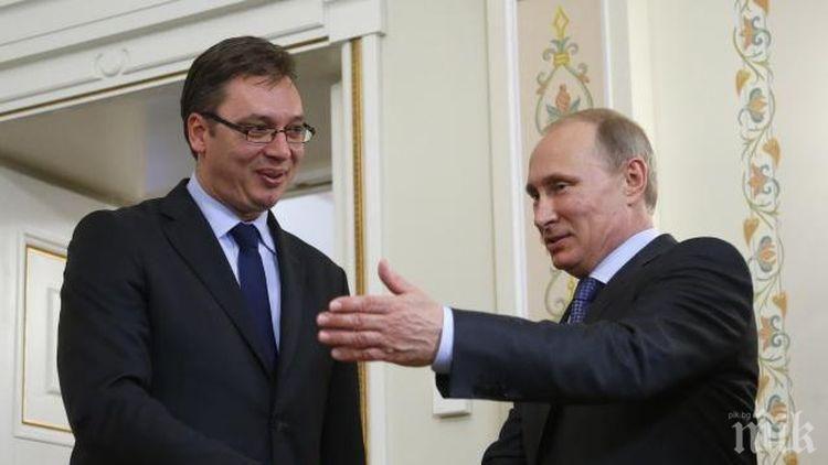 Сърбия: Нито една страна не защитава нашите интереси както Русия