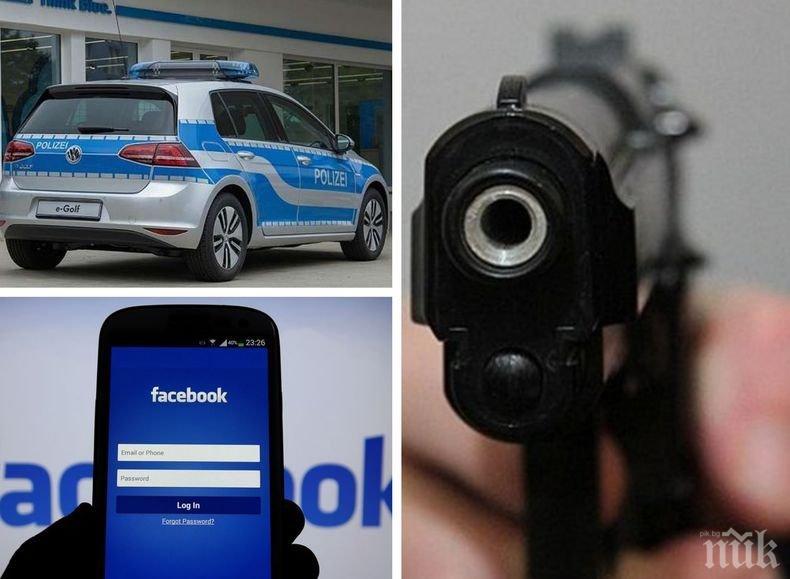 """ШОК И УЖАС! Млад мъж изби осем души от семейството си заедно с децата, после седна да пише във """"Фейсбук"""""""
