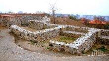 """Започнаха археологическите разкопки на крепостта """"Туида"""""""