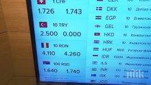 КРИЗА! Турските лири изчезнаха, чейнджбюра спряха да ги продават