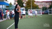 Славка Калчева поведе хорото на кампа на Милан в Несебър (СНИМКИ)