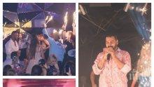"""Чалга кралят Азис пя за втория рожден ден на Петко Димитров в """"Клуб 33"""" (СНИМКИ)"""