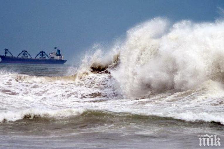 МЪРТВО ВЪЛНЕНИЕ! Синоптиците: Морето няма да се укроти в близките дни