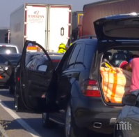 """Тапа на ГКПП """"Капъкуле"""" от турска страна блокира движението към България"""