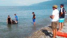 МЪРТВО ВЪЛНЕНИЕ! Пловдивчанин се удави на Южния плаж в Приморско