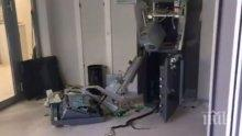 ИЗВЪНРЕДНО! Взривиха банкомат в Казанлък (СНИМКИ)