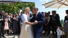 Путин потанцува на сватбата на външния министър на Австрия и си тръгна за среща с Меркел