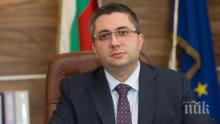 Министър Николай Нанков: От началото на следващата седмица стартират дейностите по укрепване скатовете на пътя за Рилския манастир