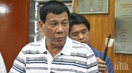 Президентът на Филипините скочи на САЩ: Давате ни остарели хеликоптери, а забранявате да купуваме оръжие от Русия