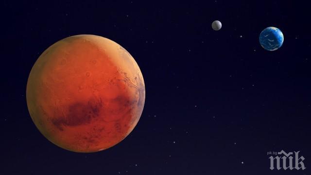МИСТЕРИЯ! Откриха странен предмет на Марс (СНИМКА)