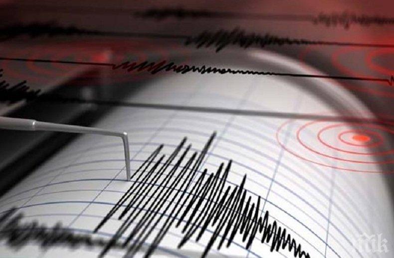 Земетресение с магнитуд 5.1 по Рихтер бе регистрирано в района на Курилските острови