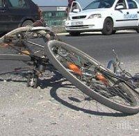 Шофьор помете велосипедистка край Борисовата градина и избяга