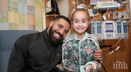 11-годишната почитателка на Дрейк получи ново сърце