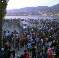 НАПРЕЖЕНИЕ! Мигрантите на остров Лесбос се готвят за бунт