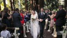 Хилари Суонк забранила телефоните на сватбата си