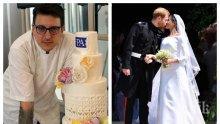 """ЕКСКЛУЗИВНО В ПИК TV! Сладкарят Иван Александров: Направих тортата за сватбата на Принц Хари и Меган с българско тесто - само в """"Жълтите новини"""""""