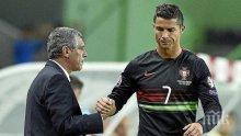 ШОК! Кристиано Роналдо не попадна в състава на Португалия