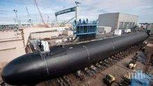 Американска атомна подводница пристигна на пристанището в Гибралтар
