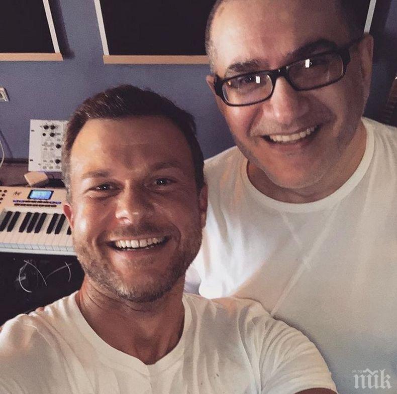 Ненчо Балабанов влезе в студио - пече два нови хита
