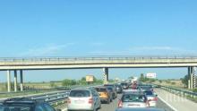 """ВАЖНО! Отклоняват движението на камиони по магистрала """"Тракия"""" в района на Вакарел"""
