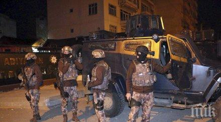 Най-малко 94 предполагаеми членове на ИДИЛ са  задържани в Турция само за месец