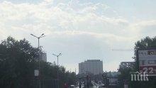 """АД В БУРГАС! Няма качване на магистралата! На Маказа задръстването е от 1,5 км., на ГКПП """"Илинден"""" се минава за 10 минути (СНИМКА)"""