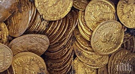 находка стотици златни монети римско време бяха открити италианския град комо