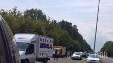 Като на кино: Полицията преследва джигит в луда гонка из Бургас, не спрял на пешеходна пътека