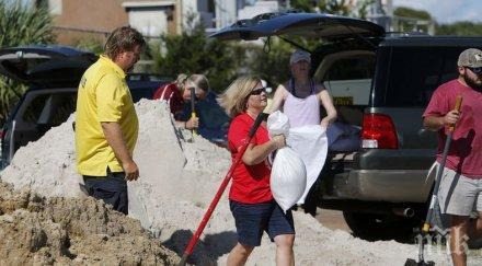 """БЪЛГАРСКА РАБОТА! Нашенци в окото на урагана """"Флорънс"""", не искат да се евакуират"""
