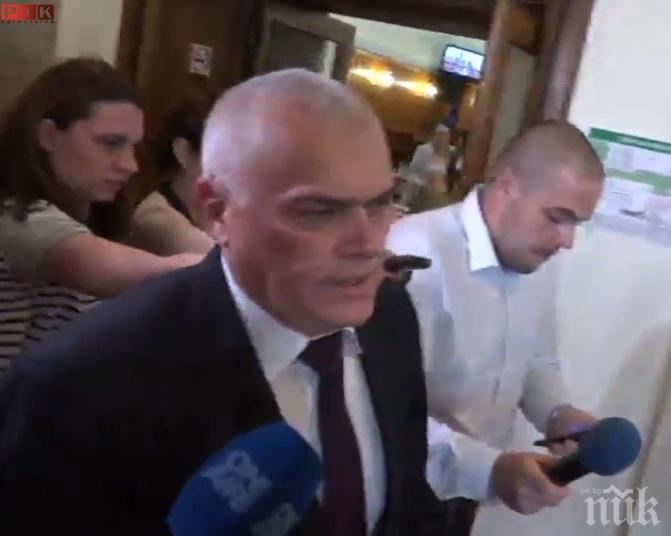 ПЪРВО В ПИК TV! Министърът в оставка Валентин Радев и главният прокурор Цацаров с разкрития за избягалия брат на Георги Столиов (ОБНОВЕНА)