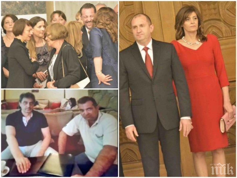 РАЗКРИТИЕ НА ПИК: Президентът Радев в завера с подсъдимия Прокопиев. Деси Радева дружка с жена му Галя. Комбинаторите провалят Манолев и Младен Маринов за министри