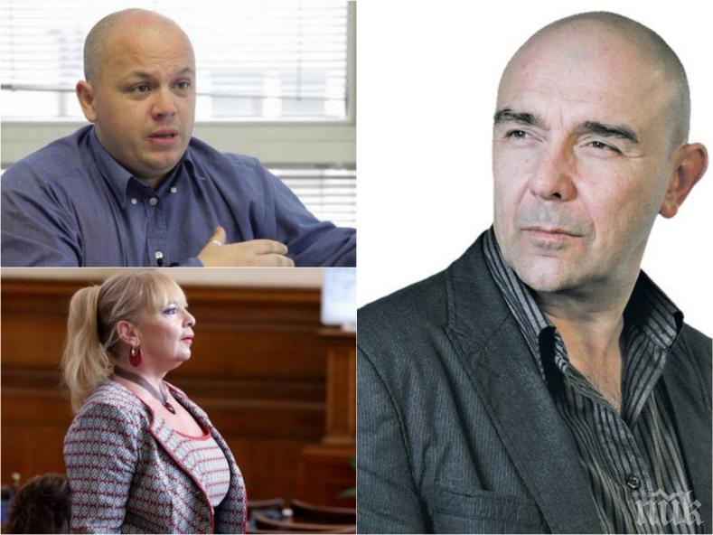 САМО В ПИК! Калин Сърменов отговори на обвиненията на Александър Симов: С Нона сме приятели, политически нюанси в театъра няма