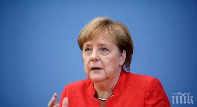 """Меркел: """"Северен поток 2"""" е важен и значим за Берлин"""
