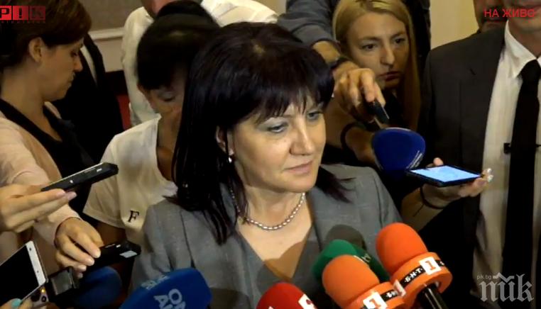ИЗВЪНРЕДНО В ПИК TV! Цвета Караянчева разкри - врътка на Румен Радев е отложила гласуването на новите министри