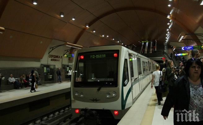 ОТ ПОСЛЕДНИТЕ МИНУТИ! Пуснаха движението в метрото след кървавата драма