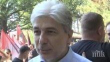 """Министър Димов се включи в почистването на лесопарк """"Липник"""" в Русе"""