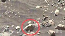 Какво крият за Марс? Уфолог откри тухла, живели ли са хора на Червената планета