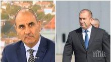 Цветанов смъмри Румен Радев: Взима хард идеи, защо не идва в парламента?
