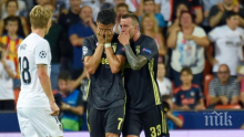 Футболът се тресе! Жесток скандал с Роналдо