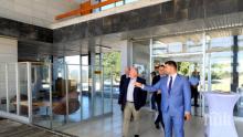 """Потенциален европейски инвеститор оглежда летище """"Русе"""""""