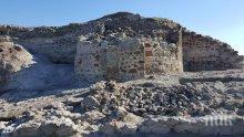 "Находка! Откриха крепостна стена и кула при разкопките на крепостта ""Русокастро"""