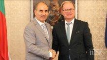 Цветанов се срещна с главния прокурор на Бавария Рейнард Рьотле (СНИМКИ)