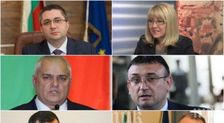 ВАЖЕН ДЕН! Депутатите гласуват новите министри