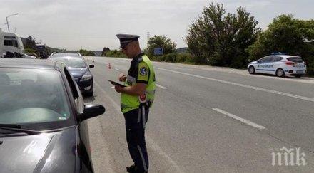 Заловиха пиян румънец, шофирал на пътя Русе-Бяла