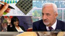 Муравей Радев разби популистките напъни на БСП за хляба